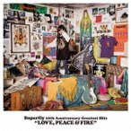 Superfly Superfly 10th Anniversary Greatest Hits『LOVE, PEACE & FIRE』<初回限定盤> CD