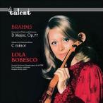 ブラームス ヴァイオリン協奏曲 ローラ ボベスコ  アナログレコード