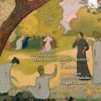 イザベル・ファウスト フランク: ヴァイオリン・ソナタイ長調; ショーソン: コンセール?ヴァイオリン, ピアノと弦楽四 CD