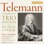 ダ・カメラ Telemann: Complete Trio Sonatas with Recorder and Viol CD