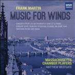 マシュー・ウェストゲイト Frank Martin: Music For Winds CD