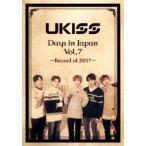 U-KISS U-KISS Days in Japan Vol.7 -Record of 2017- �Υ��ޥץ��ա� DVD