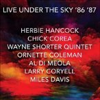 Various Artists Live Under the Under the Sky '86 '87 CD