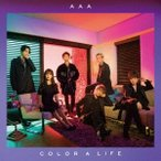 AAA COLOR A LIFE [CD+DVD+スマプラ付]<通常盤/初回限定スリーブ仕様> CD