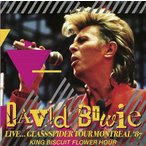David Bowie Live...Glass Spider Tour Montreal '87 King Biscuit Flower Hour CD