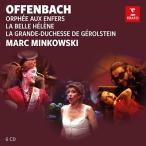 マルク・ミンコフスキ オッフェンバック: 「天国と地獄」「美しきエレーヌ」「ジェロルスタン大公妃」<限定盤> CD
