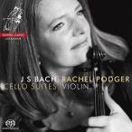 レイチェル・ポッジャー J.S.バッハ: 無伴奏チェロ組曲(ヴァイオリン版/世界初録音) SACD Hybrid