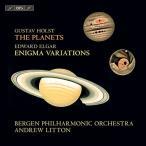 Holst ホルスト   ホルスト 惑星 エルガー エニグマ変奏曲 アンドルー リットン ベルゲン フィル 輸入盤