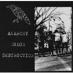 CROW (鴉) ANARCHY CHAOS DESTRUCTION CD
