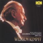 ヴィルヘルム・ケンプ J.S.バッハ:ゴルトベルク変奏曲BWV988 CD