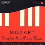 ロナルド・ブラウティハム Mozart: Complete Solo Piano Music Vol 7 / Ronald Brautigam CD