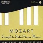 ロナルド・ブラウティハム Mozart: Complete Solo Piano Music Vol 10 / Ronald Brautigam CD