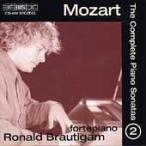 ロナルド・ブラウティハム Mozart: The Complete Piano Sonatas Vol 2 / Ronald Brautigam CD