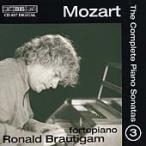 ロナルド・ブラウティハム Mozart: The Complete Piano Sonatas Vol 3 / Ronald Brautigam CD
