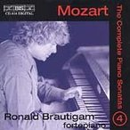 ロナルド・ブラウティハム Mozart: The Complete Piano Sonatas Vol 4 / Ronald Brautigam CD