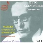 シドニー交響楽団 Legendary Treasures - Otto Klemperer Discoveries Vol 1 CD