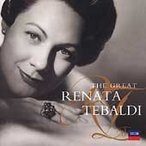 ��ʡ������ƥХ�ǥ� The Great Renata Tebaldi CD