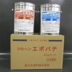 フローンエポパテ 【4kgセット グレー】 東日本塗料