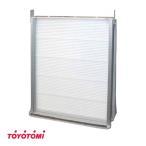 トヨトミ 窓用エアコン用 部材 テラス戸用取付枠 TIW-PT6
