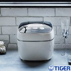 JPB-G102WA タイガー魔法瓶(TIGER) 圧力IH炊飯器(圧力IH炊飯ジャー) 5.5合 炊きたて 土鍋コーティング ホワイト JPB-G102-WA