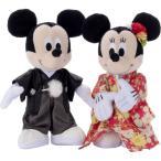 ディズニーキャラクター ブライダル ミッキーマウス&ミニーマウス 着物