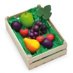 Erzi(エルツィ)木製ままごとセット『木箱入りフルーツセット(大)』Assorted fruits
