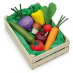 Erzi(エルツィ)木製ままごとセット『木箱入り野菜セット(大)』Assorted vegetables