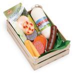 Erzi(エルツィ)木製ままごとセット『木箱入りソーセージセット(大)』Assorted sausages