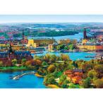 ジグソーパズル APP-500-262 風景 北欧の輝き ストックホルム旧市街 500ピース