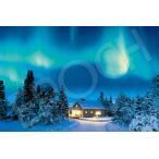 ジグソーパズル EPO-09-014s 風景 神秘の夜・オーロラ-スウェーデン 1000ピース