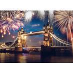 ジグソーパズル EPO-79-352s 風景 ロンドン 大晦日の花火 500ピース