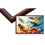 フレーム EPP-65-257 ウッディパネルエクセレント No.57 / 3-TW ブラウン 30.5×43cm(ラッピング不可) 【ラッピング対象外】