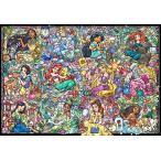 ジグソーパズル TEN-DS1000-776 ディズニー ディズニープリンセス  コレクション  ステンドグラス  (プリンセス) 1000ピース