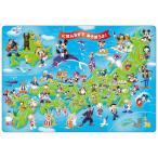 チャイルドパズル TEN-DC60-059 ディズニー ミッキーと日本地図であそぼう! 60ピース