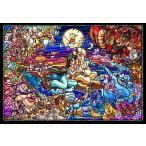 ステンドアートジグソーパズル TEN-DSG500-474 ディズニー アラジン ストーリーステンドグラス(アラジン) 500ピース [CP-D]