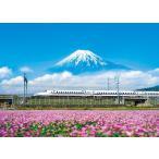 500ピース ジグソーパズル れんげの花と富士山 静岡   38x53cm