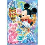 ジグソーパズル YAM-99-449 ディズニー グラスアーティスト(ミッキー・ミニー) 99ピース