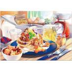 ジグソーパズル 1000ピース ピュアホワイトジグソー ディズニー チップ&デール あま〜い誘惑 (DP-1000-030)