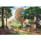 ジグソーパズル 1000ピース トーマス・キンケード ディズニー くまのプーさん Winnie The Pooh II (D-1000-030)
