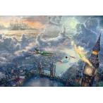 ジグソーパズル 1000ピース トーマス・キンケード ディズニー ピーターパン Tinker Bell and Peter Pan Fly to Never Land (D-1000-031)