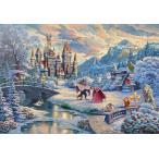 ジグソーパズル 1000ピース ディズニー Beauty and the Beast's Winter Enchantment (美女と野獣)ビューティ ビースト D1000-072