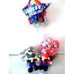 誕生日祝結婚祝入学祝開店祝卒業祝バルーン電報バルーンギフト 七五三 (どきどきスーパーゲーム スパークバルーン)