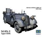 1/35 ドイツ 4輪軍用乗用車170VK kfz.2無線車 MB3531