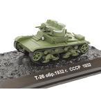 1/72スケール ソ連軍 T-26 量産型軽戦車 1932