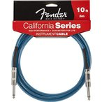 Fender / California Instrument Cables 10ft LPB Lake Placid Blue  楽器用ケーブル フェンダー 商品  WEBSHOP