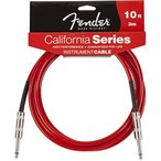 Fender / California Instrument Cables 10ft CAR Candy Apple Red  楽器用ケーブル フェンダー WEBSHOP