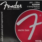 Fender USA Super Bass Taperwound 8250-5M  045-130tw   エレキベース弦