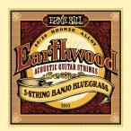 【国内正規輸入品】ERNIE BALL アーニーボール バンジョー弦 2063 Earthwood ...ースウッド 5弦バンジョー ブルーグラス