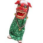 ダンシング獅子舞 音に反応して 踊りだす お正月 飾り お屠蘇 センサー内蔵 2015年 元旦 縁起