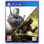 【取り寄せ】The Witcher III  Wild Hunt & Dark Souls III Compilation PS4 輸入版